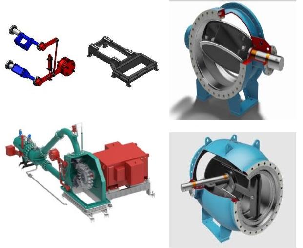 Phụ tùng cơ khí nhà máy thủy điện